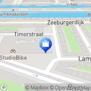 Kaart Dance Tunes BV Amsterdam, Nederland