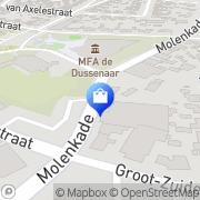 Kaart Ballegooyen Modes Dussen, Nederland