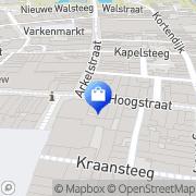 Kaart Xenos Gorinchem, Nederland
