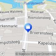 Kaart Heeren Van Zuilen Herenmode Gorinchem, Nederland