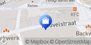 Kaart Hunkemöller Tilburg, Nederland