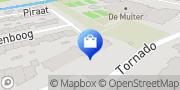 Kaart PD Beveiliging Medemblik, Nederland