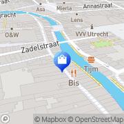 Kaart Noa Noa Utrecht Utrecht, Nederland
