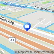 Kaart Specht Boomverzorging/Tuinaanleg De Naarden, Nederland