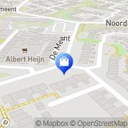 Kaart Goede Bas de Hilversum, Nederland