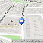Kaart Marjory' s Hilversum, Nederland