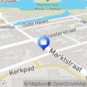 Kaart A & A Fashions Naarden, Nederland