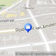 Kaart Chilly Hilversum, Nederland