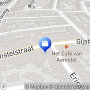 Kaart LODZ Damesmode Hilversum, Nederland