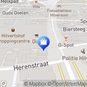 Kaart Primark Hilversum, Nederland