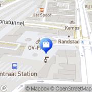 Kaart AH op 't station 's-Hertogenbosch, Nederland