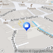 Kaart Grinsven Herenmode Pierre van 's-Hertogenbosch, Nederland