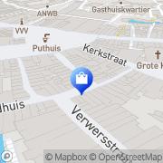 Kaart Exposed 's-Hertogenbosch, Nederland