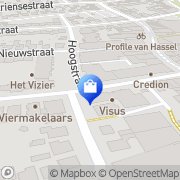 Kaart Rosmalen Walschot Apotheek Rosmalen, Nederland