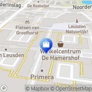 Kaart MS Mode Leusden Leusden, Nederland