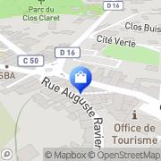 Carte de Au Péché Mignon Morestel, France
