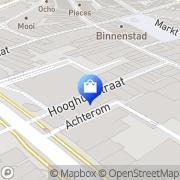 Kaart Kijkshop BV Eindhoven, Nederland