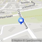 Kaart Tuincentrum Soontiëns Eindhoven, Nederland