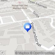 Kaart Partytent-online Veghel, Nederland