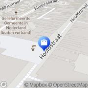 Kaart Scapino Schoenen Kleding Sport Veenendaal, Nederland