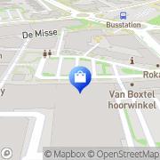 Kaart Bristol Schoenen en Kleding Uden, Nederland