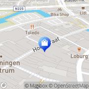 Kaart Scapino Schoenen Kleding Sport Wageningen, Nederland