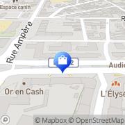 Carte de Pj Renov Grenoble, France