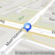 Kaart Bedden & Matrassen Centrale Maastricht, Nederland