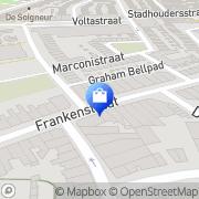 Kaart Inktpot De Maastricht, Nederland