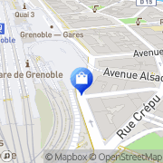 Carte de Hema Grenoble, France