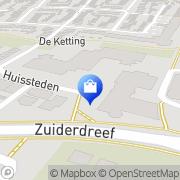 Kaart KNMP Departement Het Rijk van Nijmegen Wijchen, Nederland