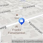 Kaart Golff Te Dorsthorst Heelsum, Nederland