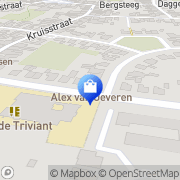 Map Oeveren Fietsspeciaalzaak Alex van Mazenhoven, Belgium