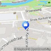 Kaart MNQ Your Personal Lifestile Leeuwarden, Nederland