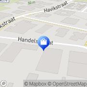 Kaart Global Office Furniture Sittard, Nederland
