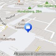 Kaart Primark Nijmegen, Nederland