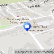 Kaart Supermarkt Janssen Molenhoek, Nederland