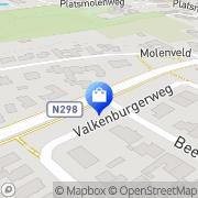 Kaart Raymond Rademakers Hoefsmederij Nuth, Nederland