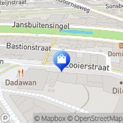 Kaart Town & Country Arnhem, Nederland