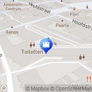 Kaart Pulls Apeldoorn, Nederland