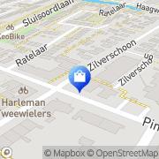 Kaart Oosterapotheek Apeldoorn, Nederland