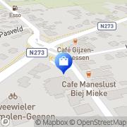 Kaart Neer Apotheek Neer, Nederland