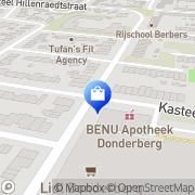 Kaart BENU Apotheek Roermond, Nederland