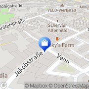 Karte Peter Wronowski Radios Aachen, Deutschland