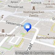 Kaart Renaissance Zwolle, Nederland