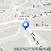 Carte de Alpes et Midi Gap, France