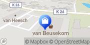 Karte Johann van Beusekom e.K. Kleve, Deutschland