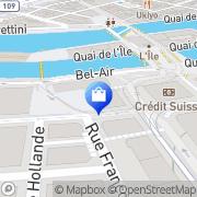 Carte de Canali Boutique Genève, Suisse