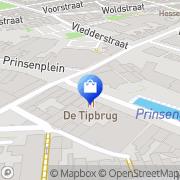 Kaart Gaudi-Plus Meppel, Nederland
