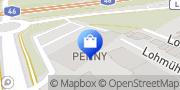 Karte PENNY-Markt Discounter Hückelhoven, Deutschland